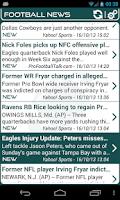 Screenshot of Philadelphia Football News