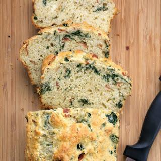 {Guilt Free} Prosciutto, Kale & Parmesan Savory Bread