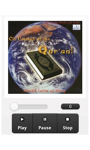 Oh Ummah of the Quran