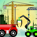 Diggers and Truck for Toddlers icon