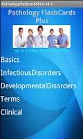 Screenshot of Pathology Flashcards Plus