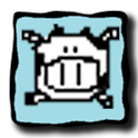 Super Piggy And Cow logo