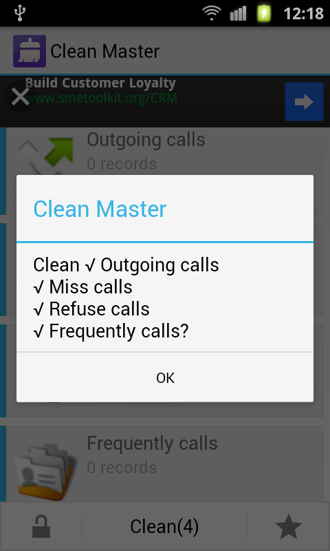 Clean Master Cleaner - screenshot