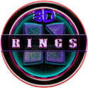 Next Launcher 3D Rings Theme icon