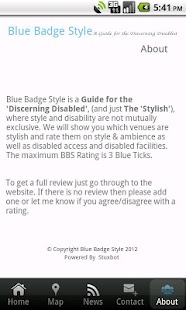 Blue Badge Style- screenshot thumbnail