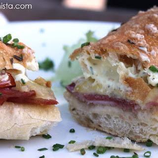Heisse Huttenseele Sandwich