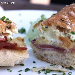 Heisse Huttenseele Sandwich.