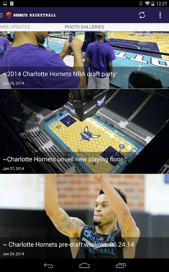 Hornets Basketball- screenshot