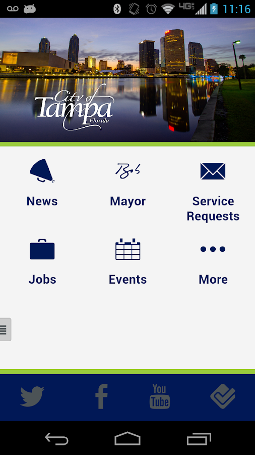 City of Tampa- screenshot