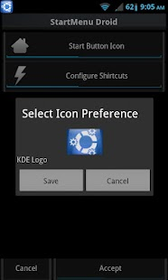 StartMenu Droid - screenshot thumbnail