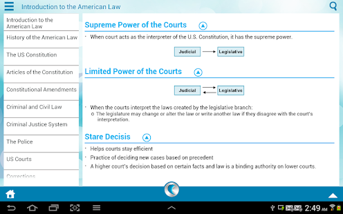US Law by WAGmob - screenshot thumbnail