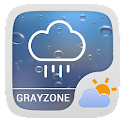 Gray Zone Weather Widget Theme