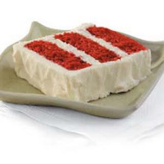 Homemade Red Velvet Cake.