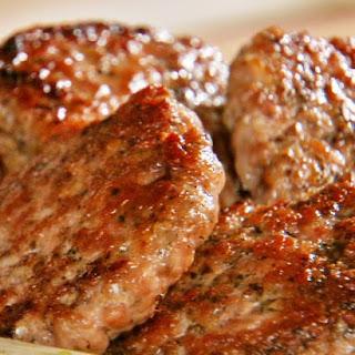 Simple Homemade Sausage Patties.