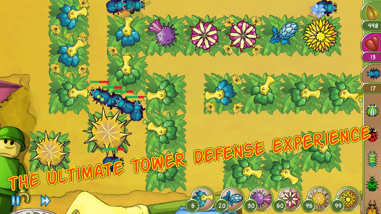 Bug Rush Free - screenshot