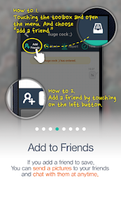 4 Chat Room Messenger App screenshot