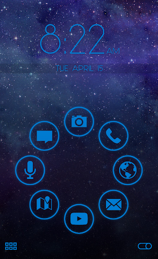 Stamped Blue SL Theme