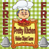 Pretty Kitchen Hidden Objects