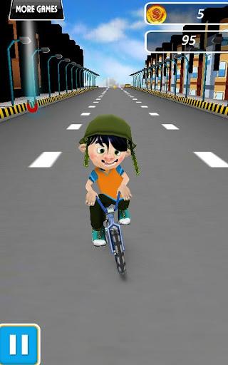 小輪車男孩 - 街頭特技