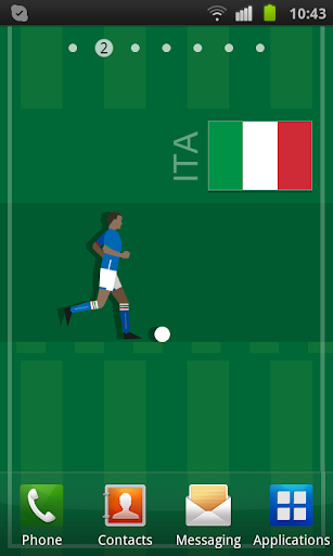 Italy Soccer LWP