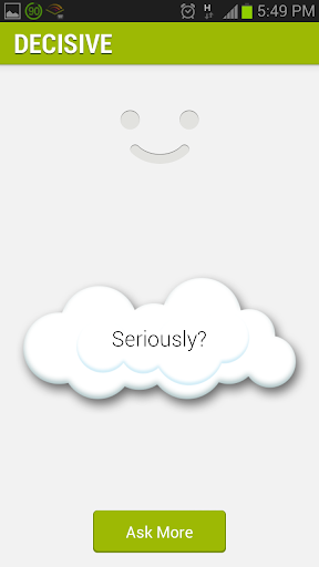 Decisive Decision making app