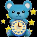 AquaBear ClockWidget icon