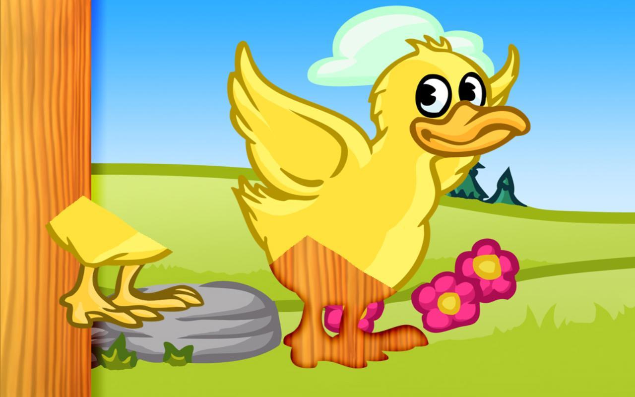 amazing animal puzzle for kids screenshot