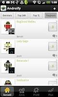Screenshot of AndroiFy : Partage de BugDroid