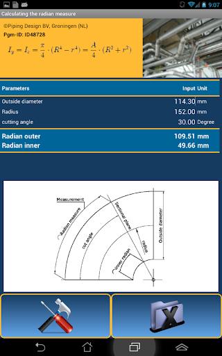 Pipe radian - ID48728