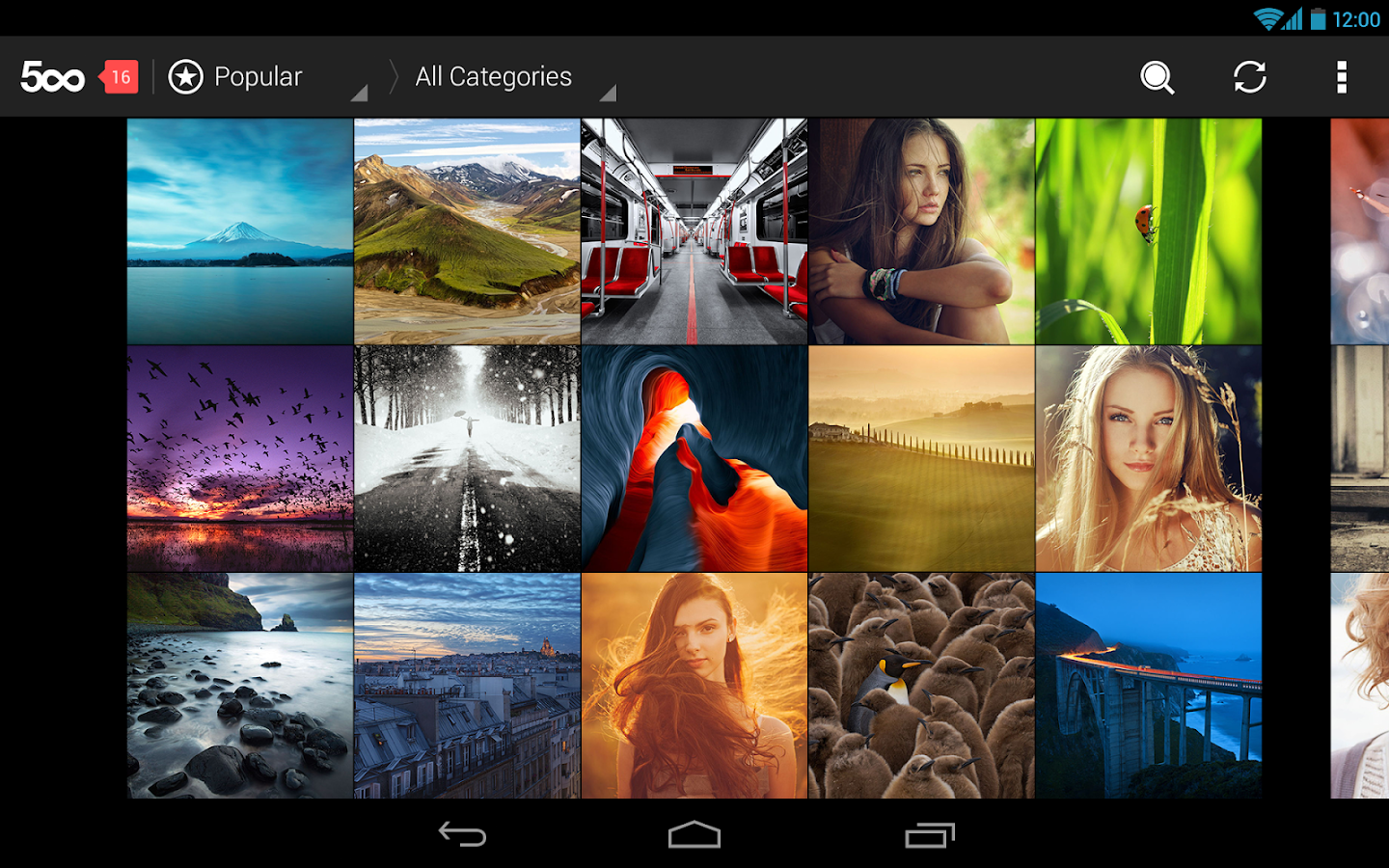 500px: Best Photos - screenshot