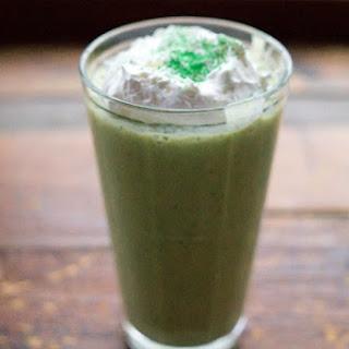 Skinny Shamrock Mint Protein Shake