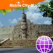 Merida Yucatan Street Map