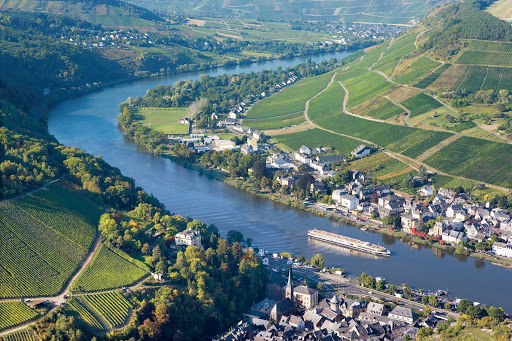 Uniworld-River-Queen-on-Moselle - Travel aboard the River Queen as it meanders down the vineyard-rich Moselle River in the heart of Europe.