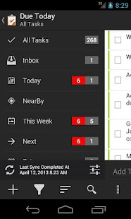 Due Today Tasks & To-do List - screenshot thumbnail