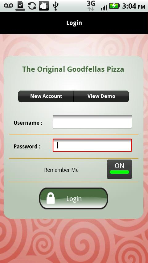 The Original Goodfella's Pizza- screenshot