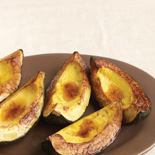 Roasted Acorn Squash with Cinnamon Butter