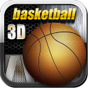 Awesome basketball 3D icon