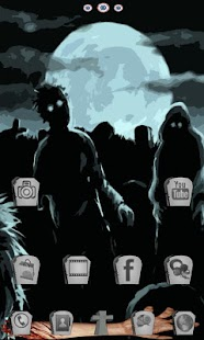 Zombie Nights GO Launcher EX- screenshot thumbnail