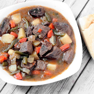 Slow Cooker Cider Beef Stew.