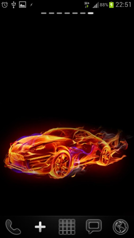 Hot Sports Cars Live Wallpaper - screenshot