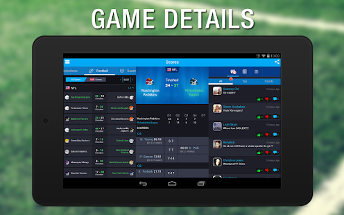 365Scores: Live Sports Scores - screenshot thumbnail