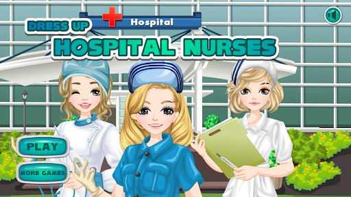 Hospital nurses - girl games