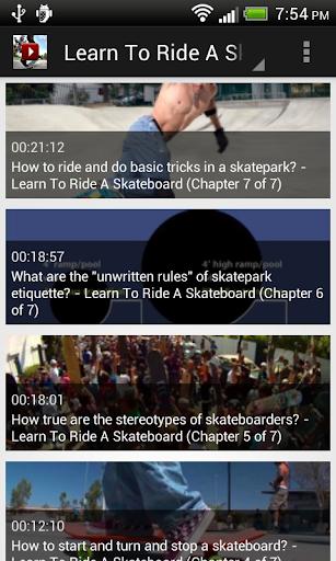 Skateboard Vdo