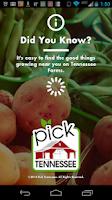 Screenshot of Pick Tennessee