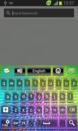 超級鍵盤顏色