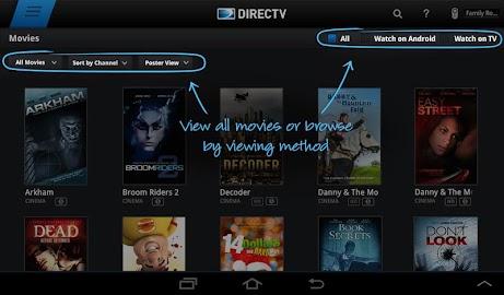 DIRECTV for Tablets Screenshot 18