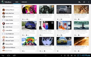 Screenshot of VideoBuzz for Facebook
