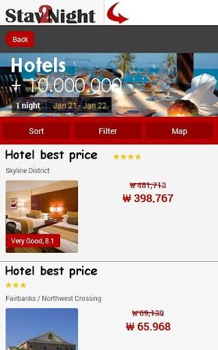 Queensland Hotel Map