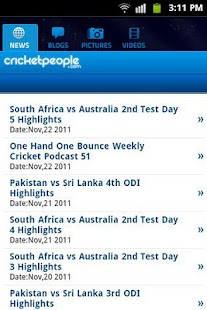 Cricket People.com- screenshot thumbnail