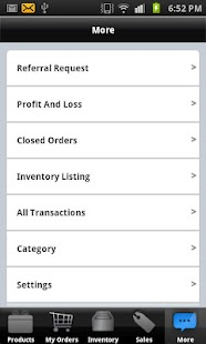 Goods Order Inventory System - screenshot thumbnail